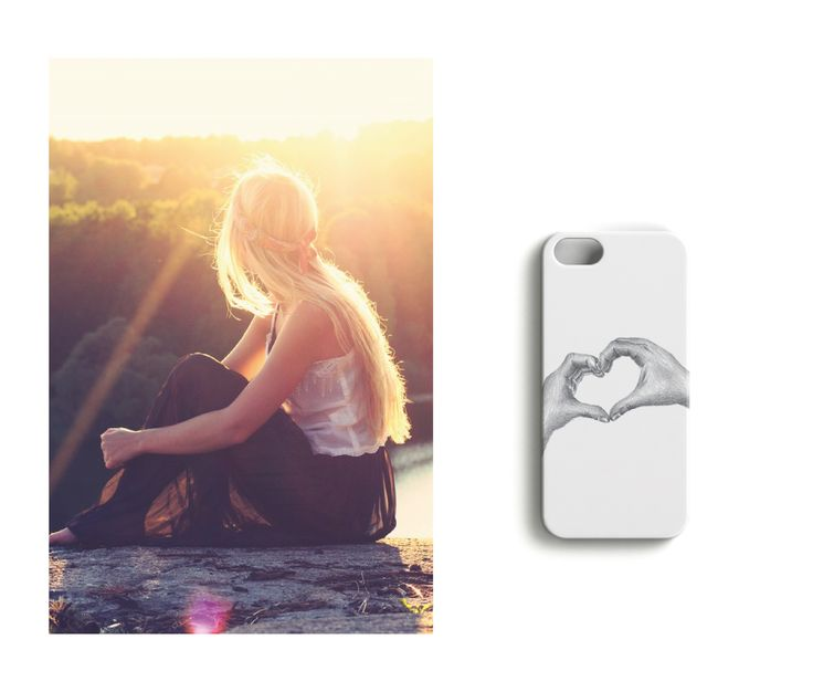 Sunkissed in the morninglight //Hugs and Kisses iPhonecase designed by Lotta Vanari.