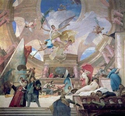 Apoteose da Renascença, de Munkácsy Mihály, 1888.