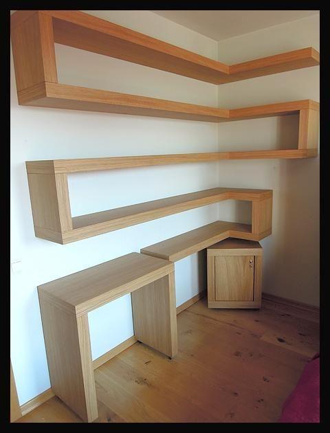 Półki na książki do gabinetu