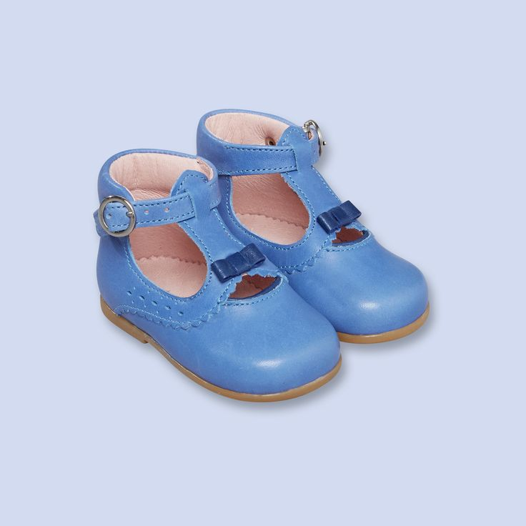 Leather t-strap booties, girl