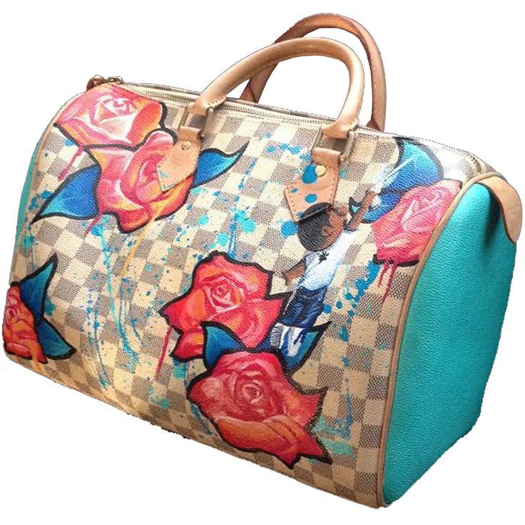 Custom Louis Vuitton Speedy 35 bag
