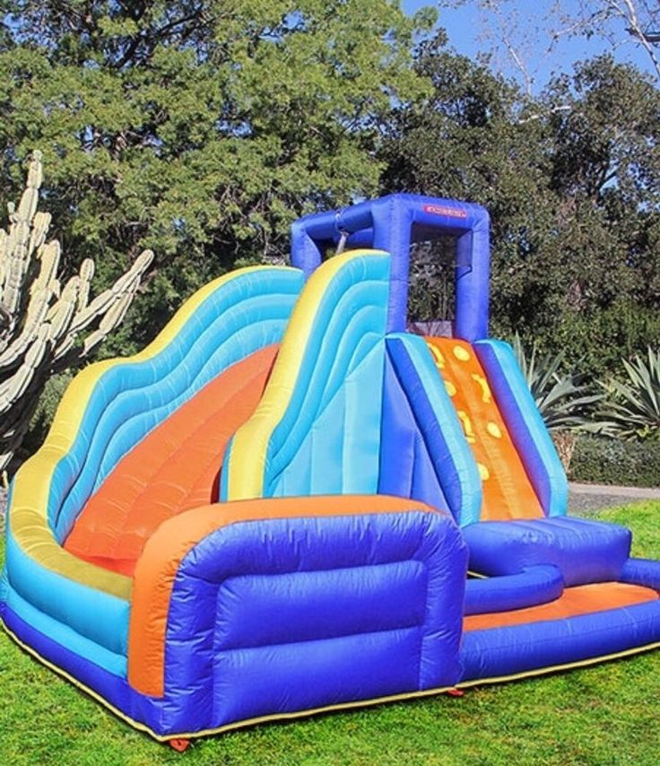 Inflatable Water Slide Toddler: Best 25+ Inflatable Water Slides Ideas On Pinterest