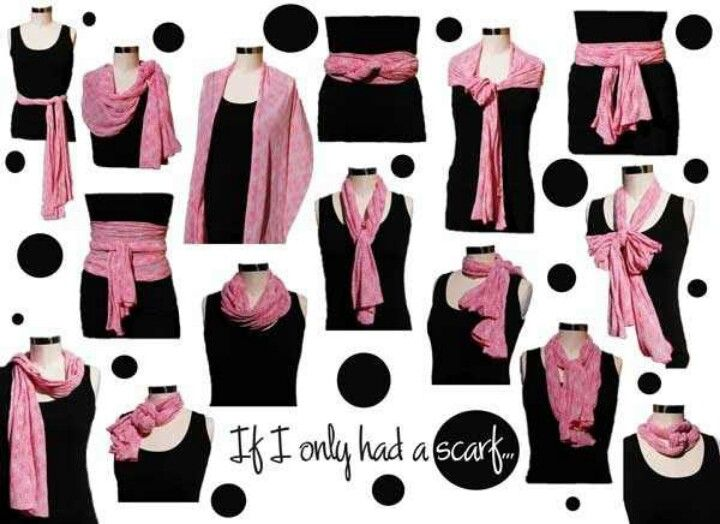 Scarves for your outfits
