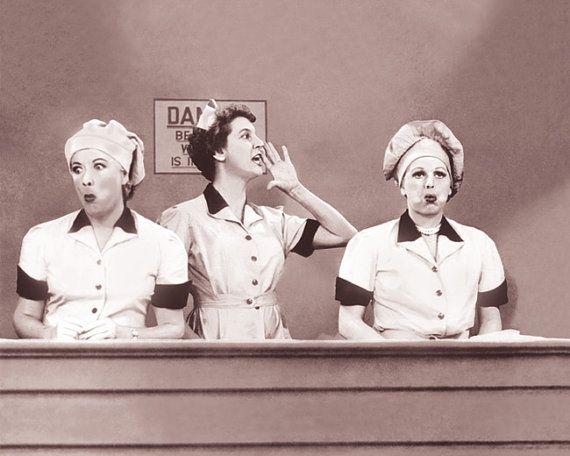 I Love Lucy Chocolate Arnaz O'Ball Comedy TV by Photosstickers, $6.99
