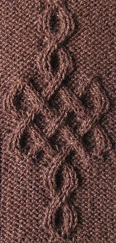 Celtic Motif (knot #243) by Devorgilla's Knitting - free