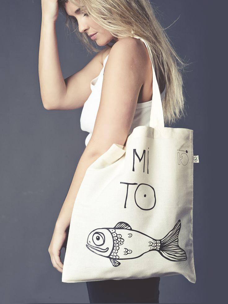 Bag MI TO RYBKA http://zzalozenia.pl/pl/torba-mi-to-rybka.html