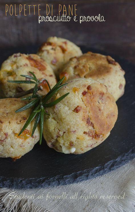 polpette di pane prosciutto e provola ricetta secondo facile e veloce