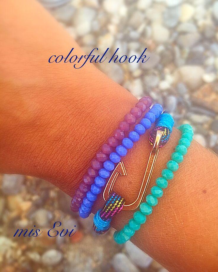 Colorful hook!!!!! Handmade bracelets