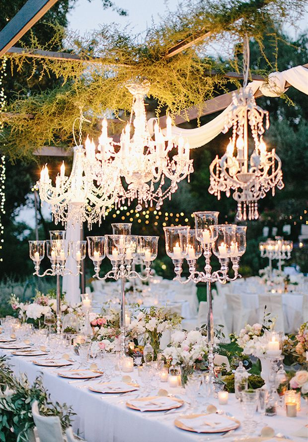 102 best wedding decor images on pinterest mariage wedding ideas 30 creative ways to light your wedding day junglespirit Choice Image