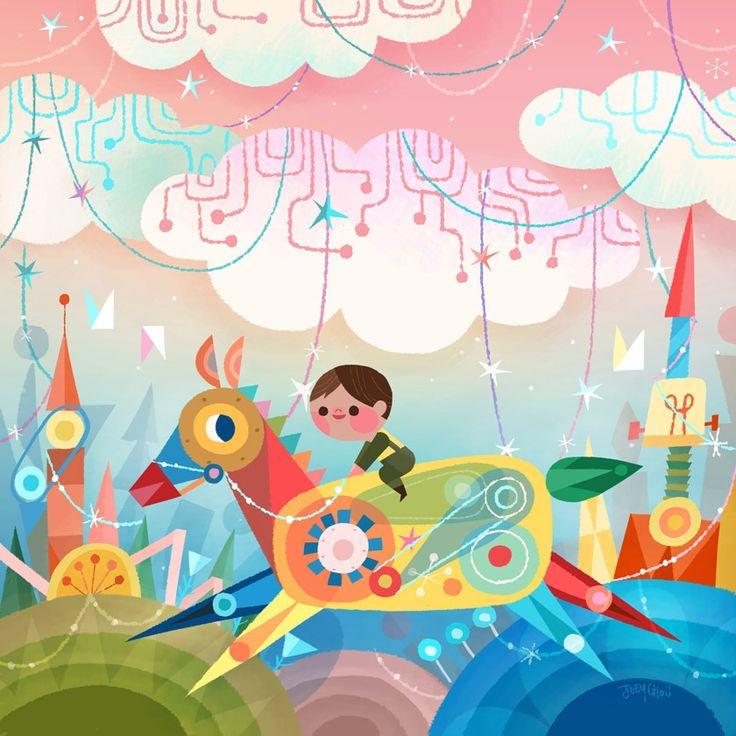 La ilustración infantil de Joey Chou   OLDSKULL
