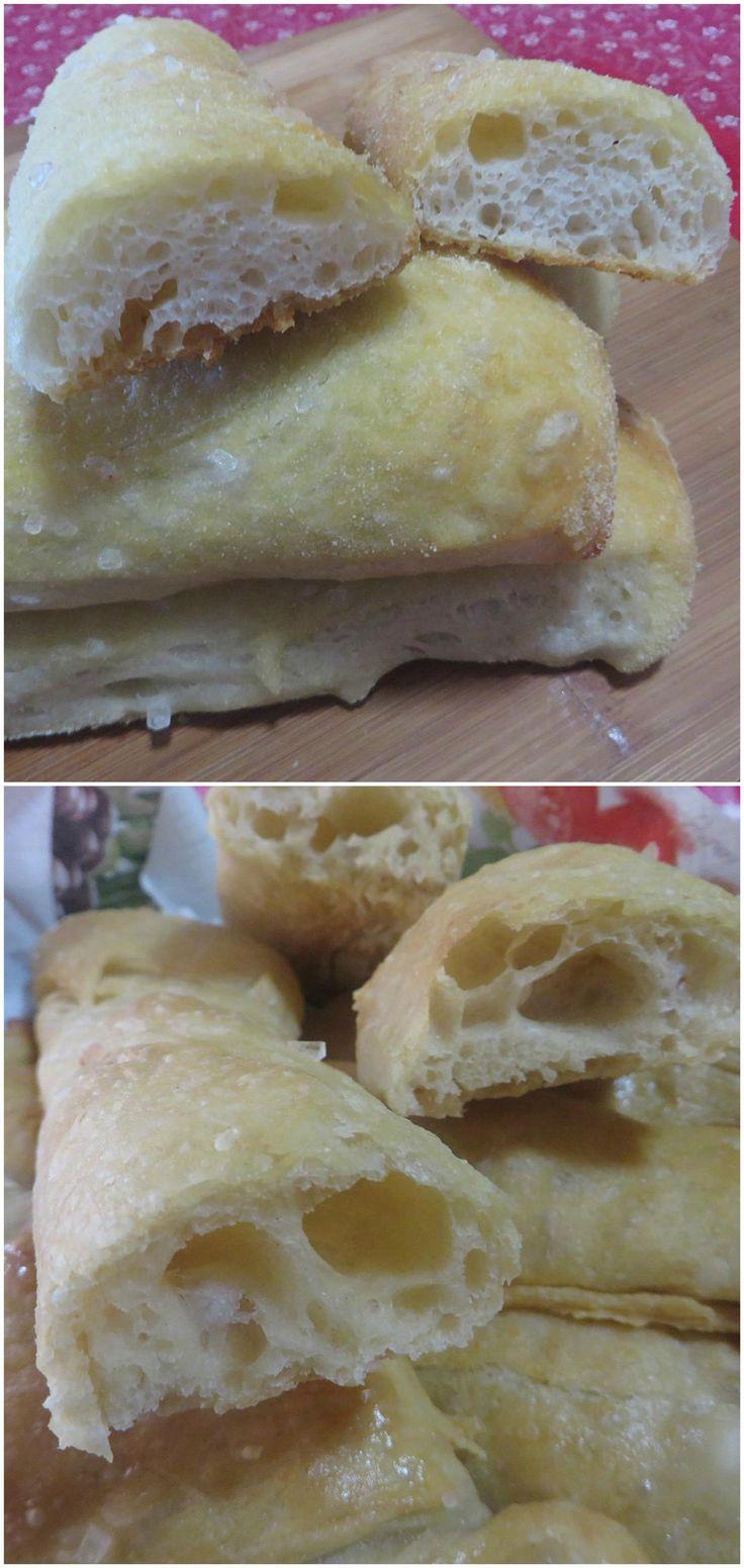 Stecche di pane senza impasto, di Jim Lakey  #panesenzaimpasto #jimlakey #stecchedipane #ricettegustose