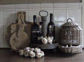 Keuken decoratie