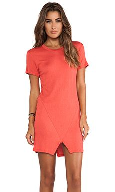 Lna Santos Dress In Coral WAS $98.73 NOW $69.11 http://richgurl.com/linkout/1974274