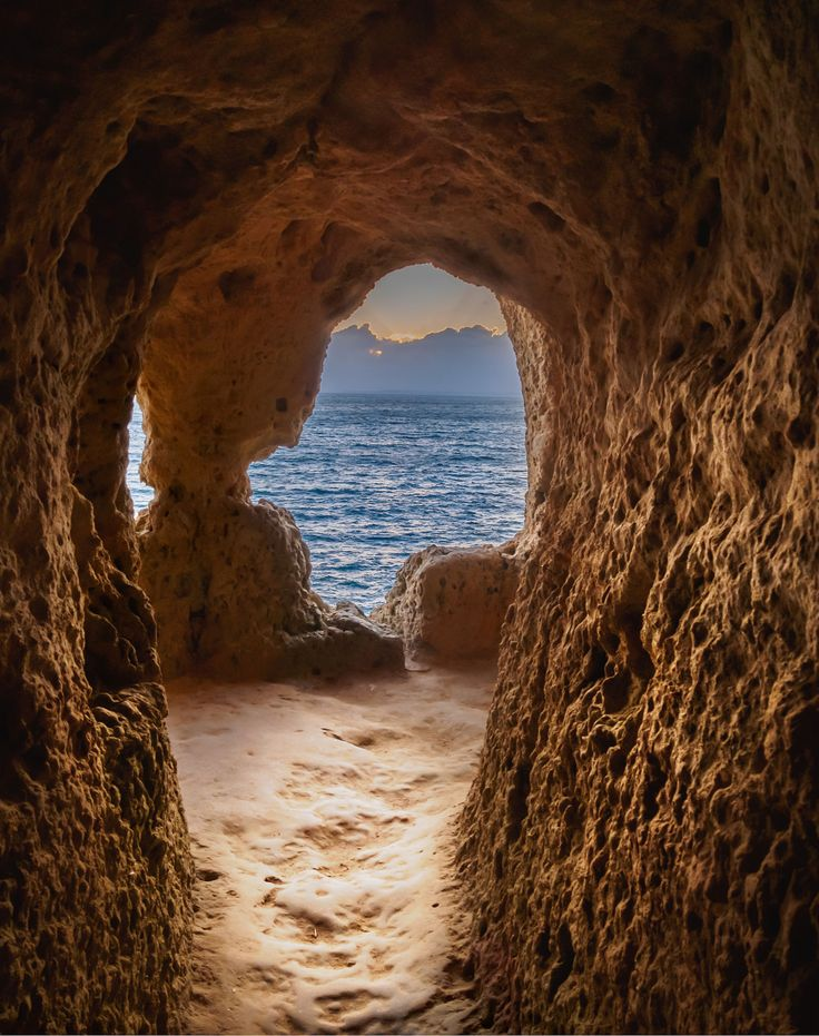 Carvoeiro Algarve Portugal - Natural window to a awsome view [1186x1500] (OC)