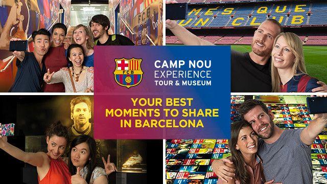 Not a soccer fun but... Camp Nou Experience Museu eng