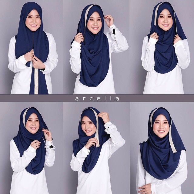 another hijab tutorial from anna khayalan #arcelia