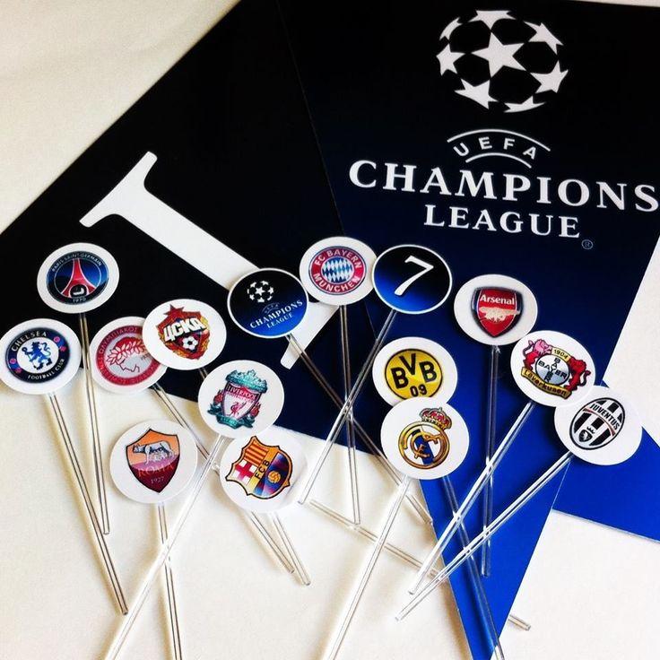 Festa Futebol Champions League   Design Festeiro