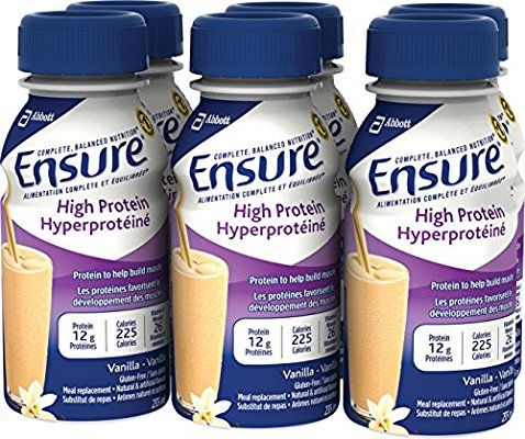 Ensure High Protein Vanilla, 235mL Bottle, 6-Pack: Amazon.ca: Health & Personal Care