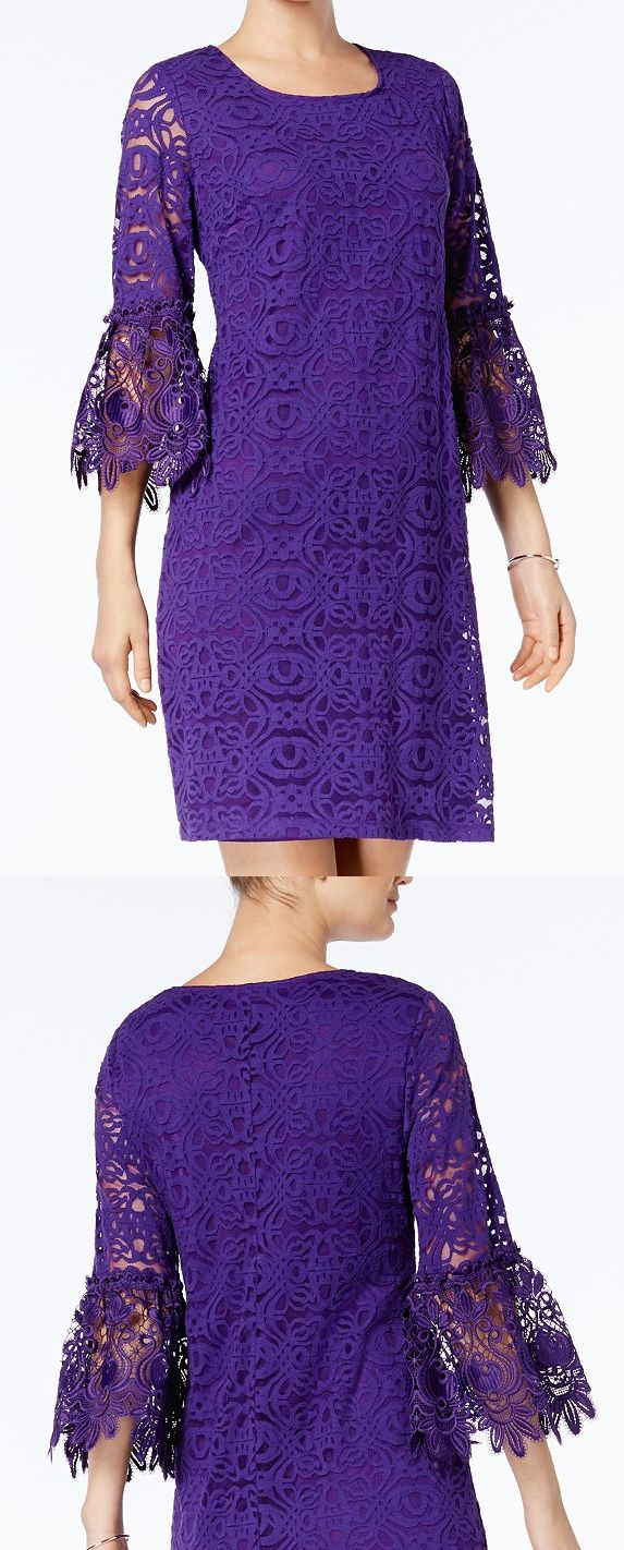 Ultra Violet lace timeless shift dress silhouette + pretty scalloped flared cuffs. Pantone colour of the year Ultra Violet purple perfect for day at the races or spring wedding guest with big floaty Kentucky derby hat. Kentucky Derby, Royal Ascot, Melbourne Cup outfit idea, inspiration. Fashionista Outfits for the races, wedding guests. #fashion #dressfortheraces #royalascot #kentuckyderby #derbyoutfits #summerweddings #weddingoutfits #fashion #fashionista #outfitideas #ultraviolet…