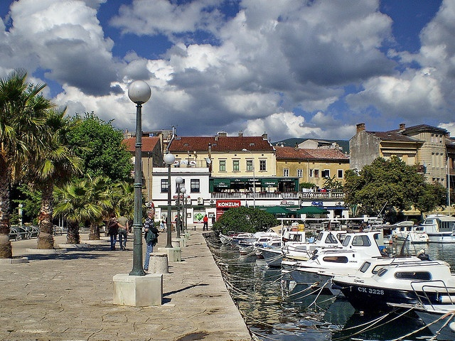 Crikvenica, Croatia   Great memories from this little sea-side town.