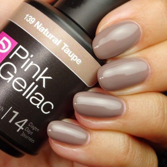 Pink Gellac 139 Natural Taupe gellak gelnagellak