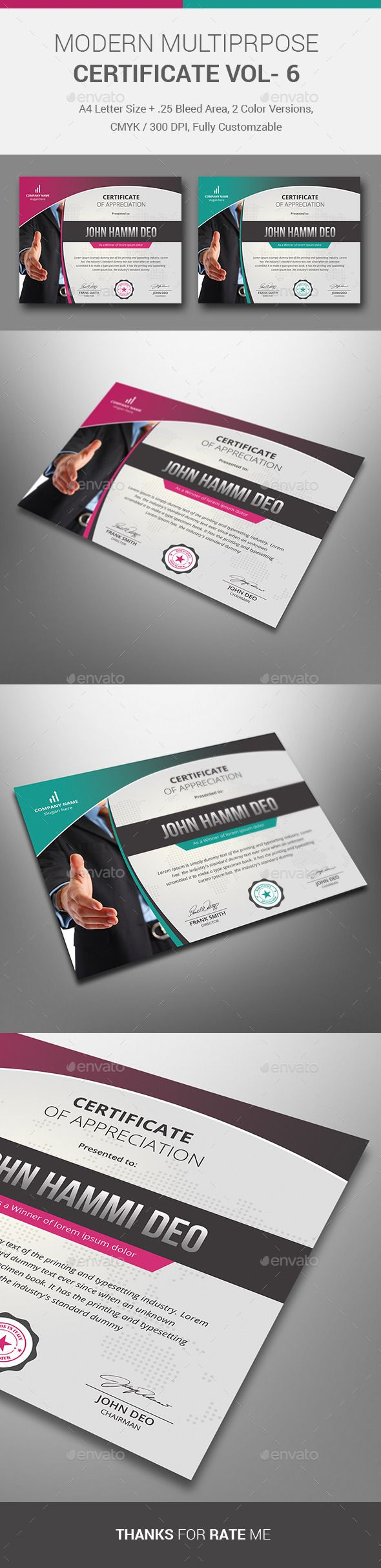34 best certificate templates psd images on pinterest professionalcertificatetemplate is made in adobe photoshop and adobe illustrator version too download http yelopaper Choice Image