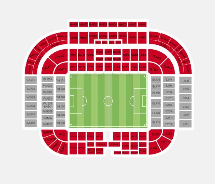 manchester united stadium seating