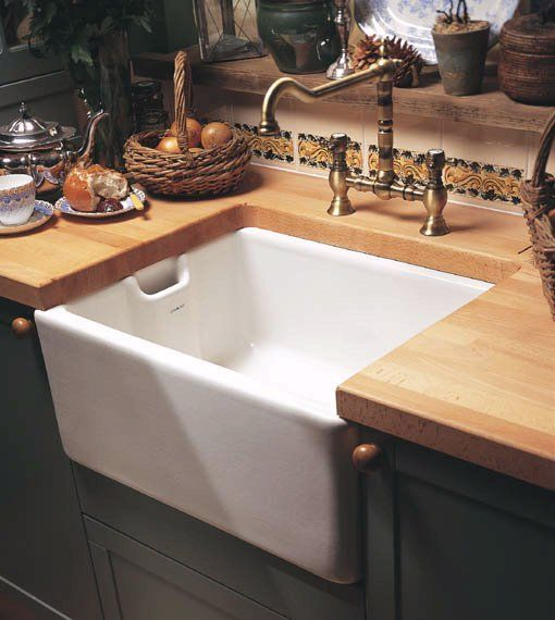A second sink in the kitchen, deep enough to wash those BIG pots and pans!  ... and I love the faucet, too!