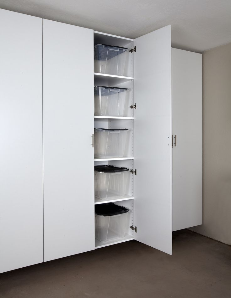 Awesome Garage Storage Cabinets with Doors