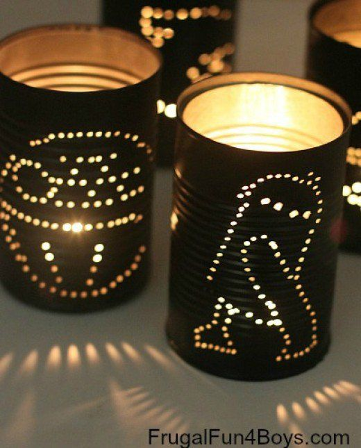 Making crafts with boys. Easy craft projects to use for boy scout camps and for…