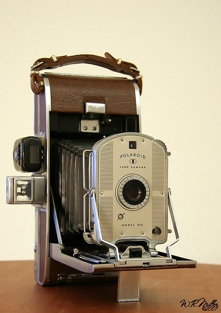 Polaroid Land Camera Model 95A #camera #polaroid