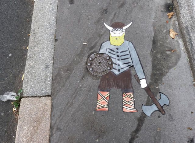 Urban art by OaKoAk