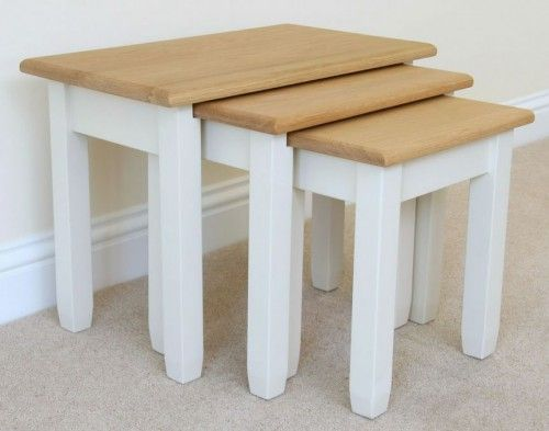 Andrena Nest of Tables, Off White