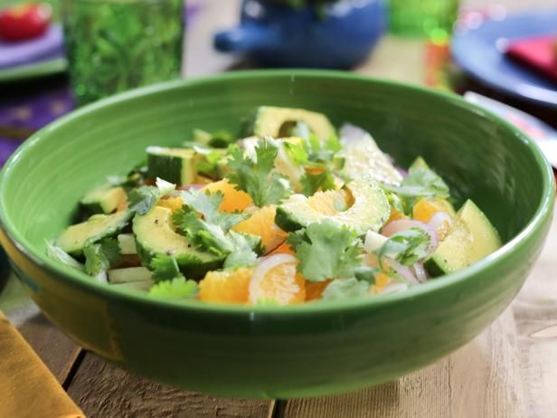 Get Jicama and Avocado Salad Recipe from Food Network