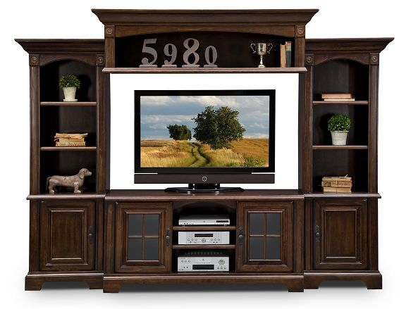 berkshire wall units collection value city furniture4 pc wall unit
