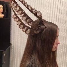 "64.4k Likes, 1,851 Comments - Hair Video Tutorials (@hair.videos) on Instagram: ""⠀ Hair by @georgiykot ❤️ ⠀⠀⠀⠀⇰Tag a friend also ⠀⠀⠀Follow @style.video ⠀⠀⠀Follow @style.video…"""