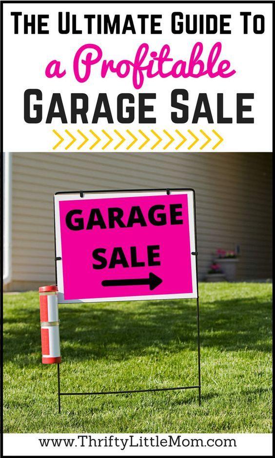 17 best ideas about garage sale signs on pinterest