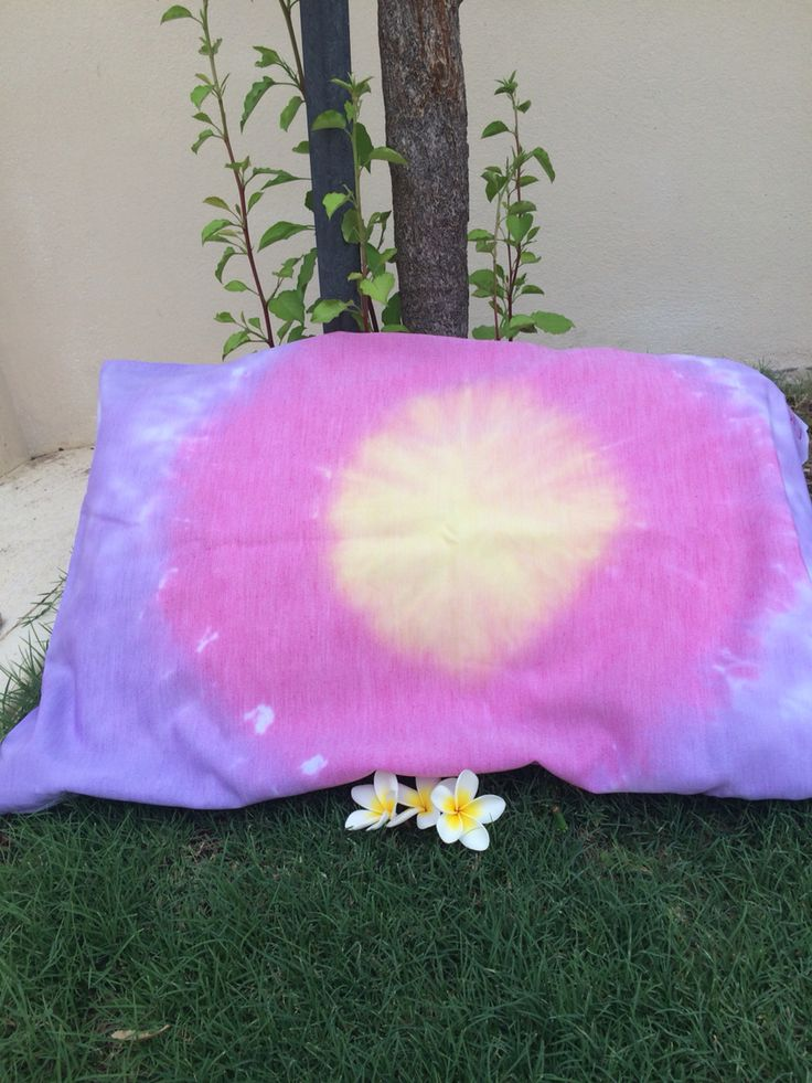 Like this?The 'Summer Sunset' pillow case