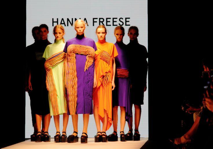 Stockholm Fashion Week Spring/Summer 2015. Designer Hanna Freese. Photo: Sampo Axelsson