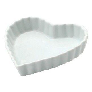 Forma de Porcelana Schmidt Coração 13cm - Utensílios Domésticos / Utilplast - Utilplast