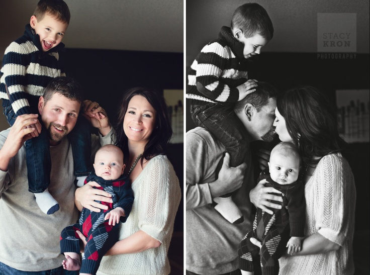 Indoor family photography would be cute