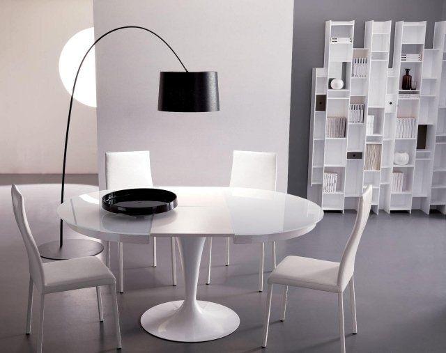 Les 25 meilleures idées de la catégorie Table ronde blanche ...