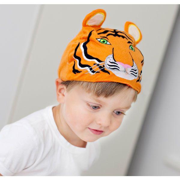Μαμά κοίτα, είμαι μία τίγρη! Εκπληκτική ιδέα για πάρτυ, σχολικές παραστάσεις ή για μια μεταμφίεση και ατελείωτη διασκέδαση στο σπίτι.