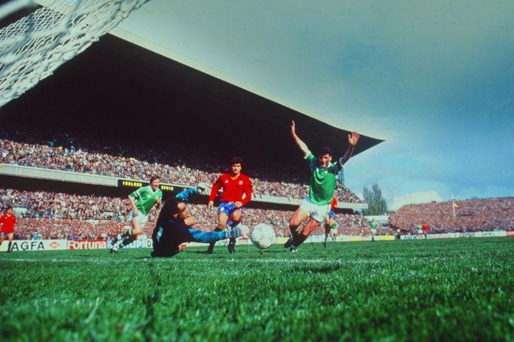 España vs Irlanda 1989