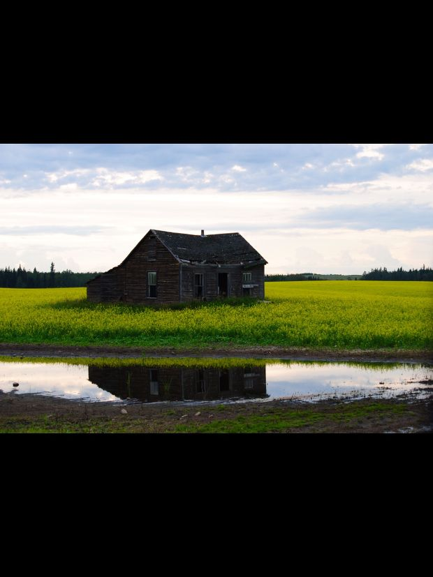Reflections of the Past | Capture Alberta Contest