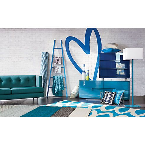 Cb2 Avec Peacock Apartment Sofa In Most Pinned Cb2