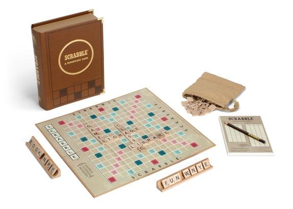 Scrabble classic library edition.