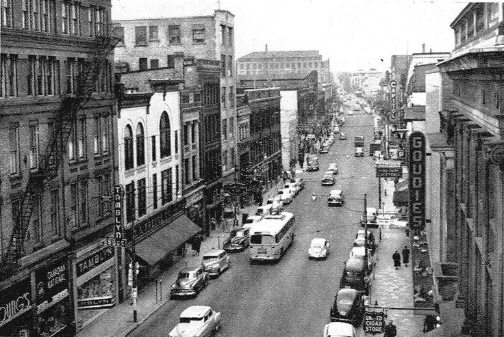 King Street Kitchener, in 1954.