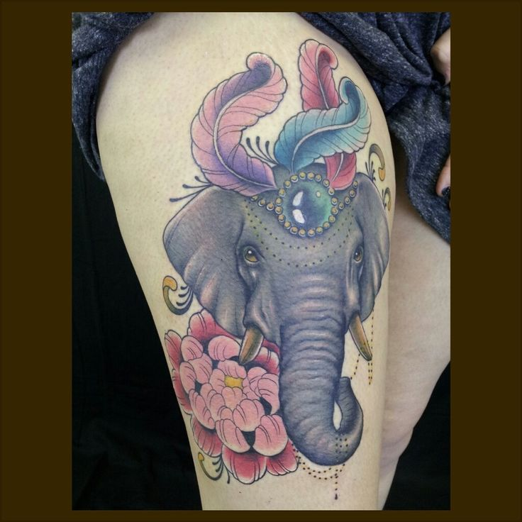 circus elephant tattoo - Buscar con Google