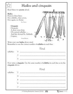 Printables Haiku Worksheet how to write a haiku worksheet bloggakuten collection of bloggakuten